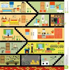 Livingroom Cartoon Portion Living Room Stock Illustrations U2013 22 Portion Living Room