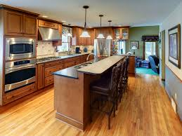 kitchen island with sink and seating kitchen island remodeling contractors syracuse cny