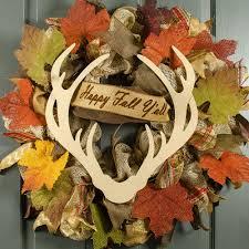 15 decorative wooden deer antler silhouette ab2338