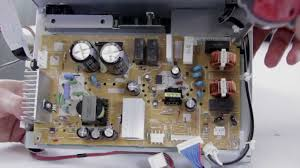 mitsubishi dlp l replacement dlp tv repair no picture no power replacing power supply in