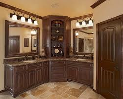 Corner Bathroom Cabinet Charming Bathroom Corner Vanity Cabinets With Vanities