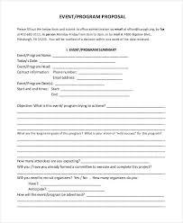 sample program proposal 2 internship project proposal project