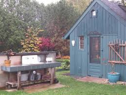 Outdoor Potting Bench With Sink What Would You Want In A Potting Bench