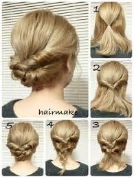 Hochsteckfrisurenen Auf Englisch by Einfache Und Schöne Hochsteckfrisur Haare Haar