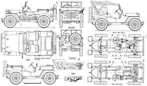 Car Interior Blueprints Modeling A High Poly World War Ii Willys Jeep In Modo Part 1