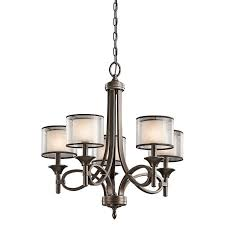 Kichler Lighting Chandelier Elstead 5 Light Chandelier Kl Lacey5 Mb Kichler Lighting