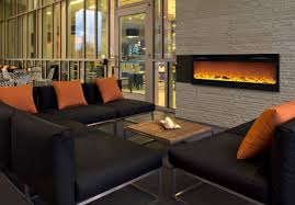 Recessed Electric Fireplace Recessed Electric Fireplace Fujise Us