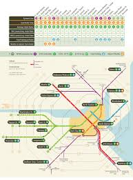 Green Line Map Boston by Boston Subway Map Hotels Outside Of Boston