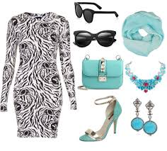how to style zebra print dresses polyvore combinations 2018