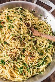 spaghetti aglio olio e peperoncino olivia u0027s cuisine