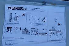 Portable Camping Kitchen Organizer - tailgating camp organizer gander mountain aluminum table w cooler
