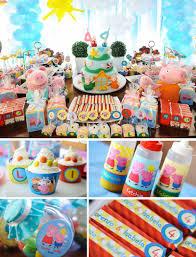 peppa pig birthday supplies peppa pig printable party decorations peppa pig party