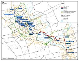Muni Route Map by A History Of Electric Transit In Waterloo Region Including The