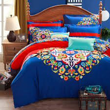 Tribal Print Bedding Bedroom Very Beautiful Colors With Bohemian Duvet U2014 Iahrapd2016 Info