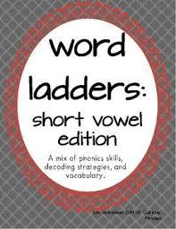 11 best word ladders images on pinterest word ladders word work