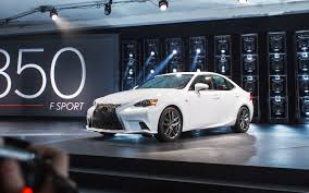 lexus is250 f sport front lip 2014 lexus is first look motor trend