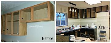 How Can I Refinish My Kitchen Cabinets Refinishing Our Kitchen Cabinets The Good The Bad And The Very