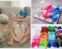 infant hair bows baby hair bows etsy