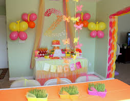 interior design creative butterfly theme party decorations home