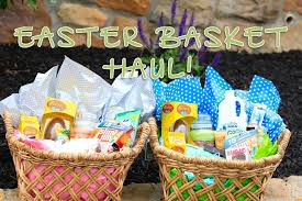 Gift Ideas For Easter Easter Basket Haul Brooklyn And Bailey Youtube
