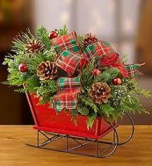 gorgeous for a centerpiece white sleigh