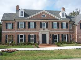 pictures on georgian colonial style free home designs photos ideas