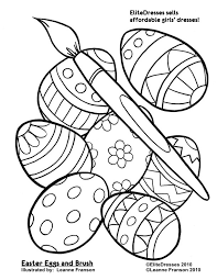 free easter coloring pages the sun flower pages