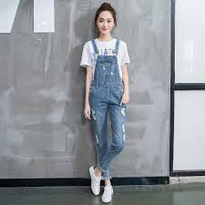 sleeve denim jumpsuit 2018 jumpsuit fashion sleeve front pocket