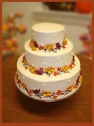 wedding cake kelapa gading best fall wedding centerpieces fall leaves wedding cakes source