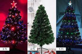 fibre optic led artificial tree 3 sizes