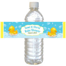 personalized water bottle labels for baby shower gallery baby