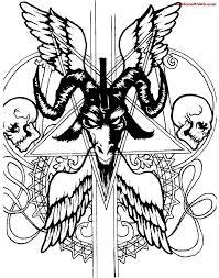 16 satan symbol tattoos