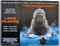lake placid original cinema movie poster from pastposters com