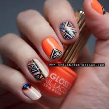 orange tribal nails pinterest opi nail art photos and nail nail