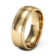 mens gold wedding bands mens wedding rings gold wedding corners