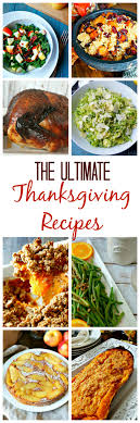 fail proof easy thanksgiving recipes from scratch
