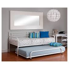 trundle for metal day bed white dorel home products target
