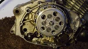suzuki gs gz 125 clutch replacement part 1 youtube