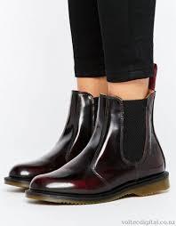 doc martens womens boots nz dr martens kensington flora burgundy chelsea boots cherry
