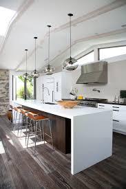 photo 2 of 5 in kitchen island modern lighting adds minimalist