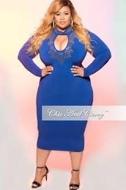 new plus size bodycon dress with choker in black u2013 chic and curvy
