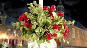 krystals mistletoe ornaments