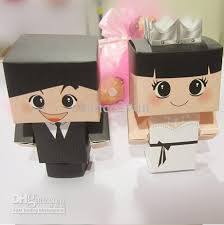 and groom favor boxes and groom tuxedo dress wedding favors boxes bridal party