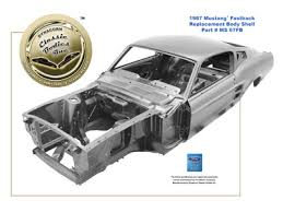 1967 mustang shell for sale dynacornbodies com 1965 1970 mustang replacement shell
