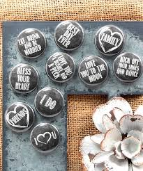 wedding magnets chalkboard style wedding magnets set of 35