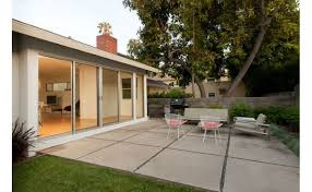 Concrete Pavers For Patio Create A Stylish Patio With Large Poured Concrete Pavers Cement