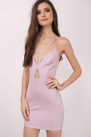 mauve bodycon dress cut out dress sleeveless purple dress au