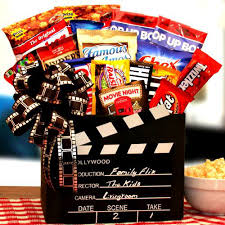 mail order gift baskets family flix gift box