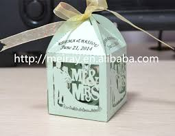 mint to be favors laser cut groom wedding candy boxes mint green candy