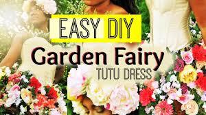 diy summer garden fairy costume tutu youtube